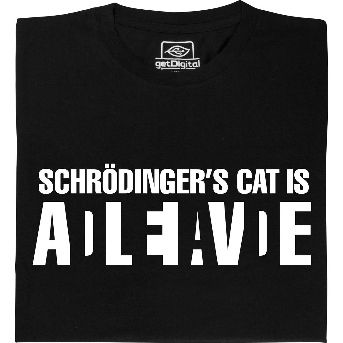 Wanted Schrodingers Cat t-shirt - Somethinggeeky