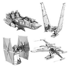 Star Wars Episode VII 3D Metal Craft Kits