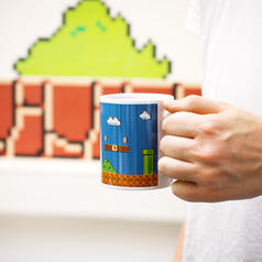 Nintendo Super Mario Heat Change Mug