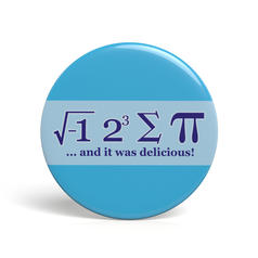 Geek Pin I Ate Some Pie