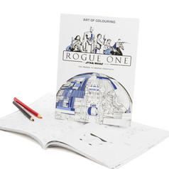 Star Wars Rogue One Colouring Book