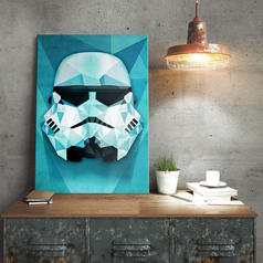 Star Wars Stormtrooper Metal Poster