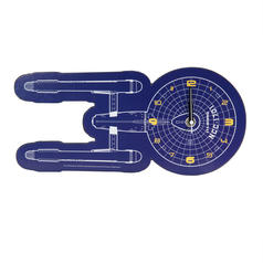 Star Trek U.S.S. Enterprise NCC-1701 Wall Clock