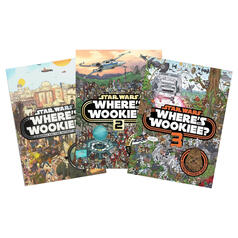 Star Wars Where's the Wookiee Activity Book