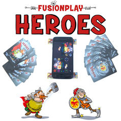 FusionPlay Heroes - Smartphone NFC Card Game