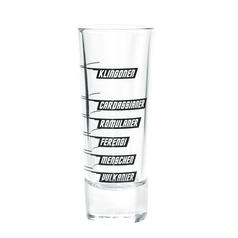 Intergalactic Shot Measuring Glass