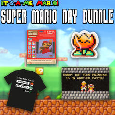 Super Mario Bundle mit T-Shirt