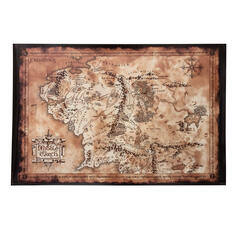 The Lord of the Rings Poster - Map of Middle-Earth