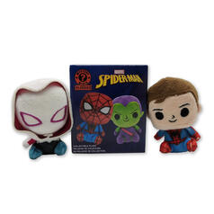 Funko Mystery Minis Marvel Spiderman Plush Collectible Figures