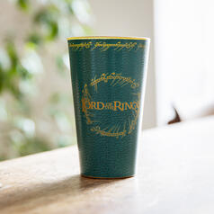 The Lord of the Rings Glass with Leather and Metal Effects: Prancing Pony