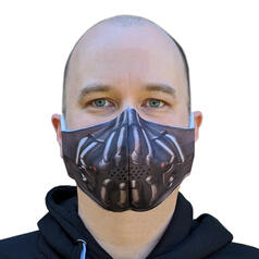 Supervillain Face Mask