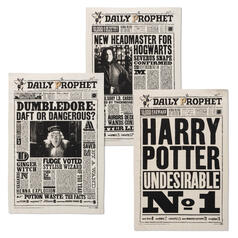 Harry Potter Daily Prophet Newspaper Article Tea Towels