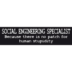 Sticker: Social Engineering