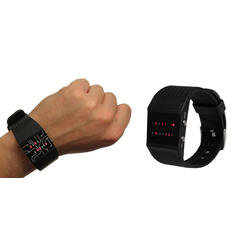 Binary Wrist Watch