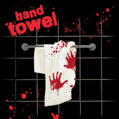 Bloodbath Towel