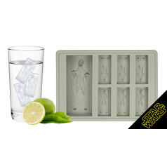 Han Solo in Carbonite Ice Cubes