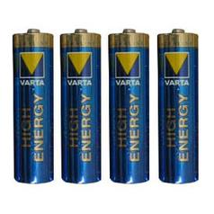 Varta Batteries: 4 * AA