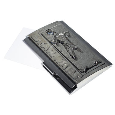 Han solo in carbonite business card case getdigital han solo in carbonite business card case colourmoves Images