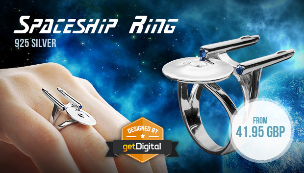 Spaceship Ring